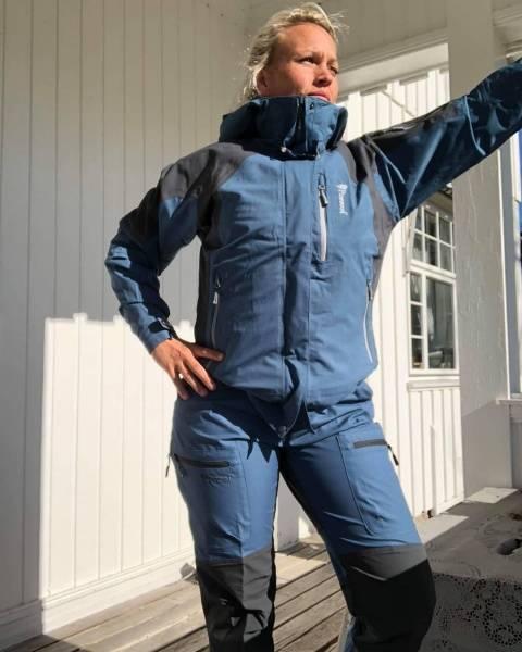 Bilde av Fritidsbukse Caribou TC Blå
